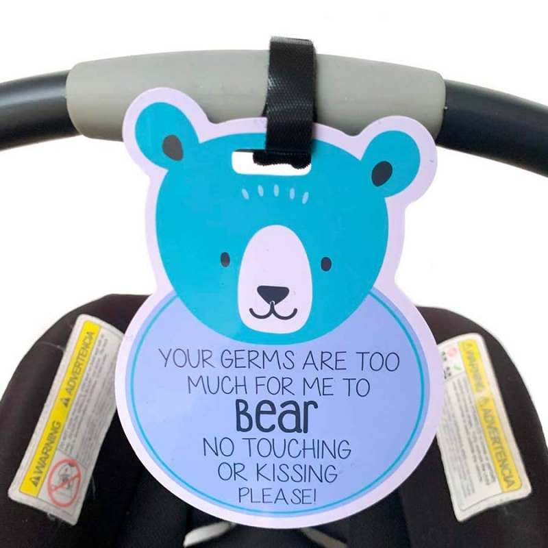 Car Seat & Stroller Tag | Bear
