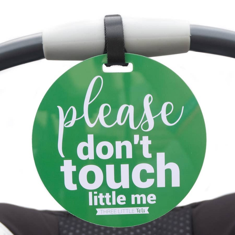 Car Seat & Stroller Tag | Green