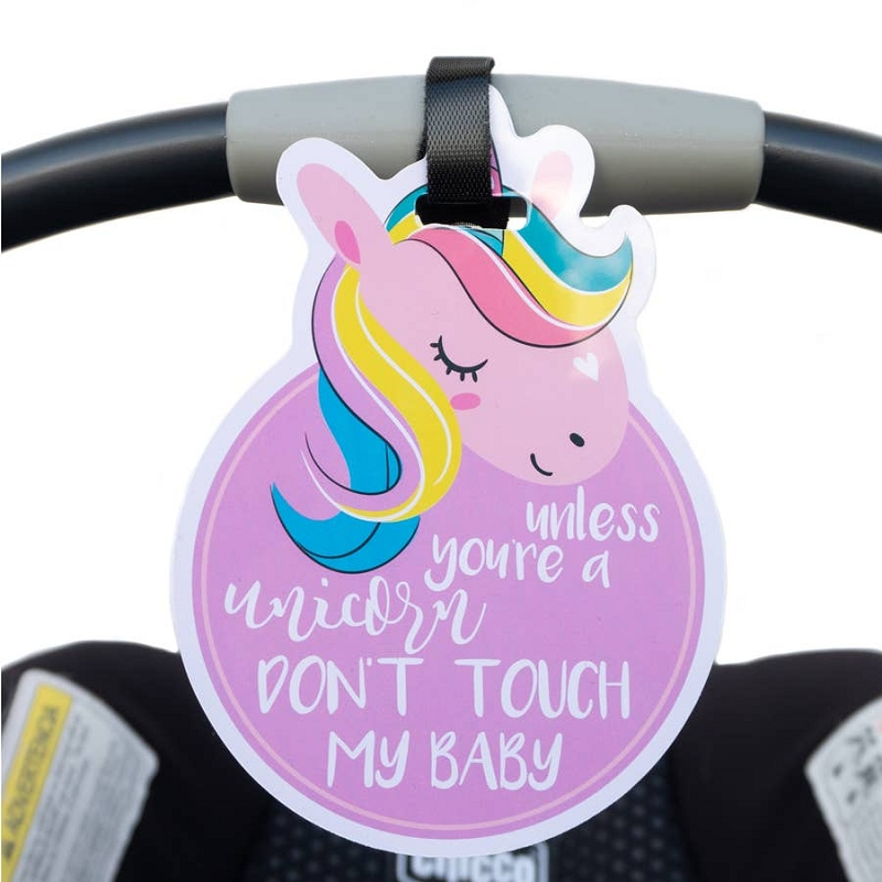 Car Seat & Stroller Tag | Unicorn