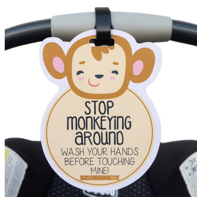 Car Seat & Stroller Tag | Monkey