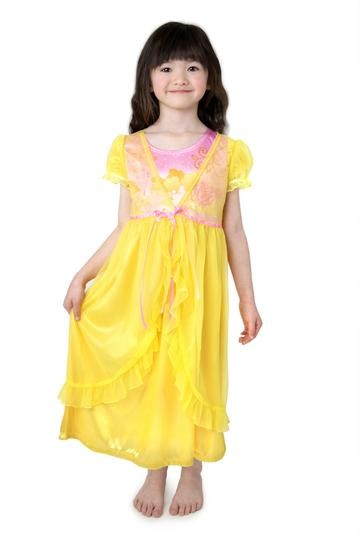 Princess Nightgown with Robe | Yellow Beauty