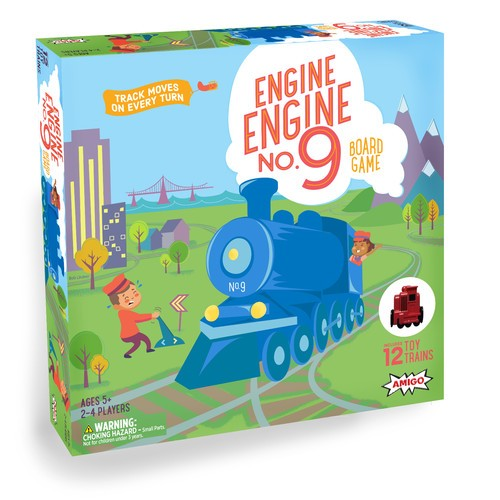 Engine Engine No. 9 board game