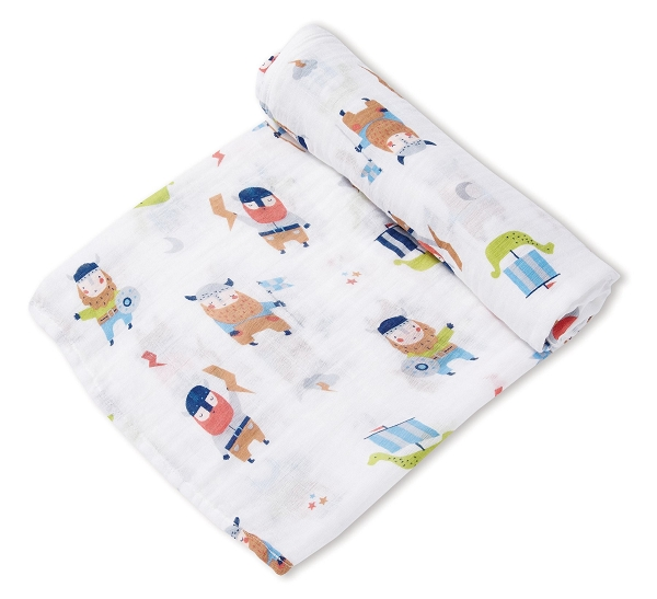 Bamboo/Cotton Swaddle Blanket | Vikings
