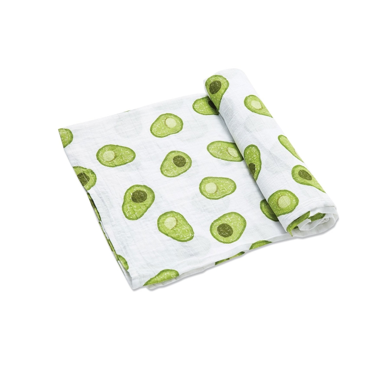 Bamboo/Cotton Swaddle Blanket | Avocado