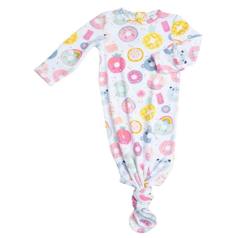 Bamboo Baby Gown | Donut Smiles