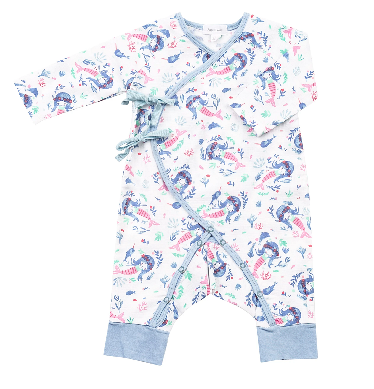Wrap Coverall | Mermaid