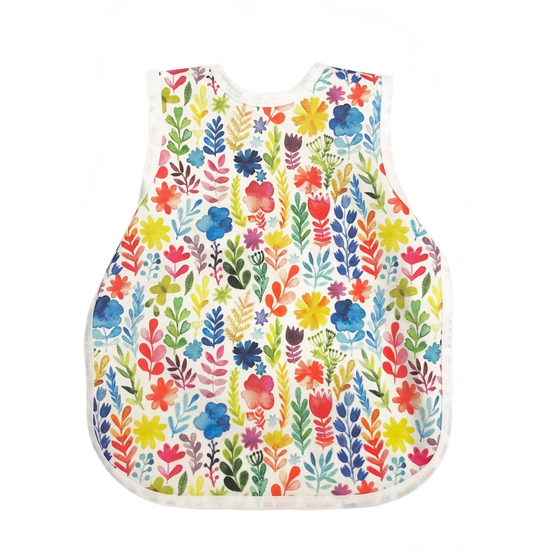 Toddler Bapron 6m-3T | Watercolor Floral