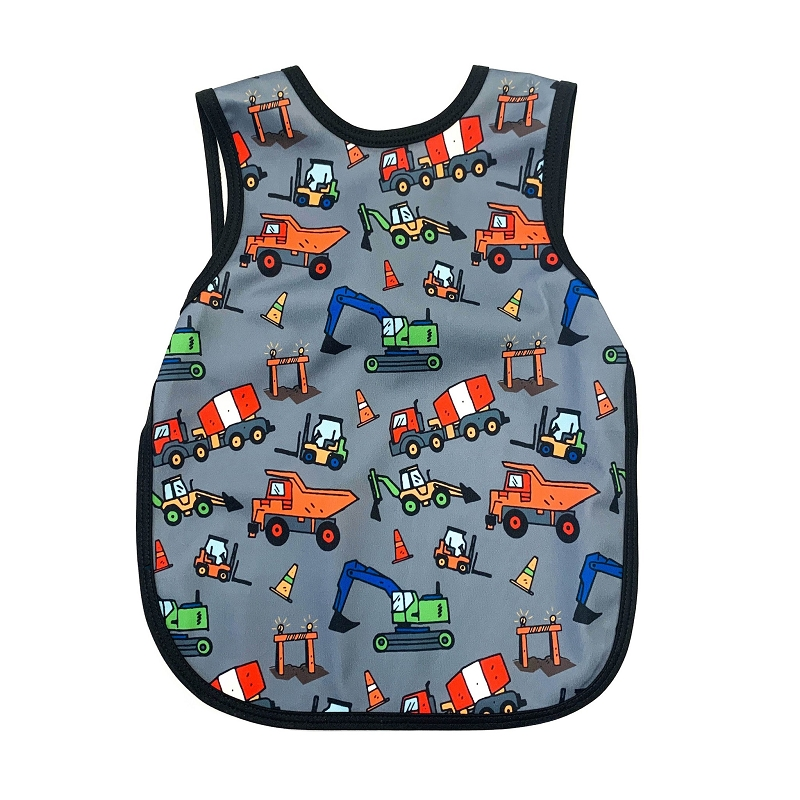 Toddler Bapron 6m-3T | Construction Zone