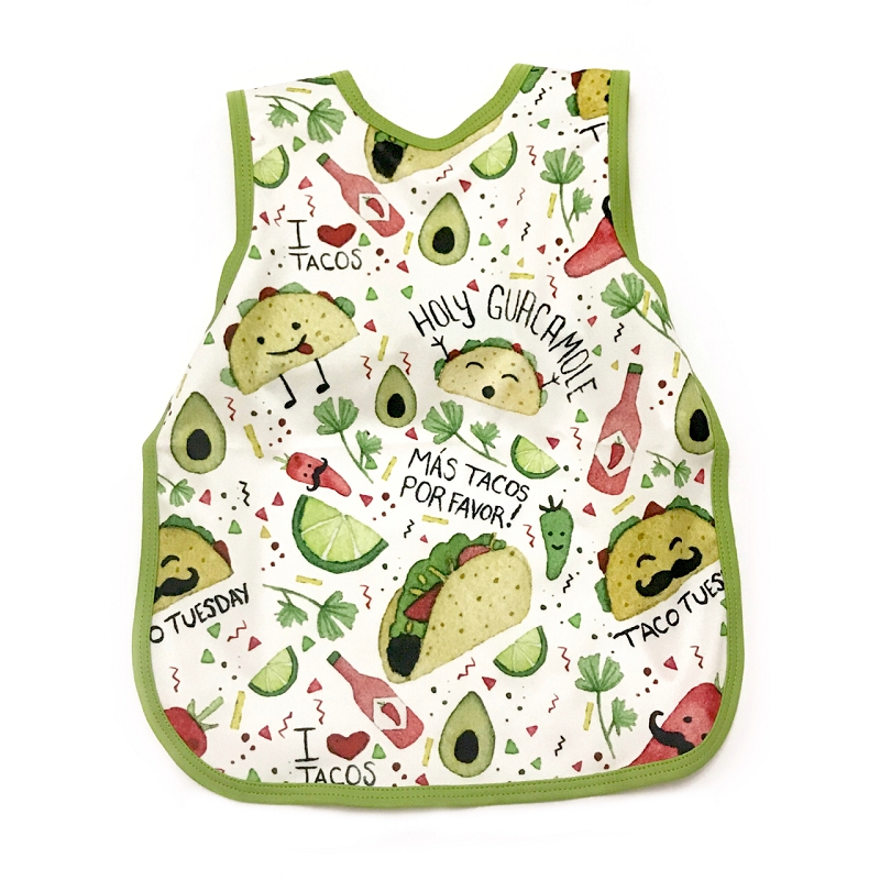 Toddler Bapron 6m-3T | Taco Party