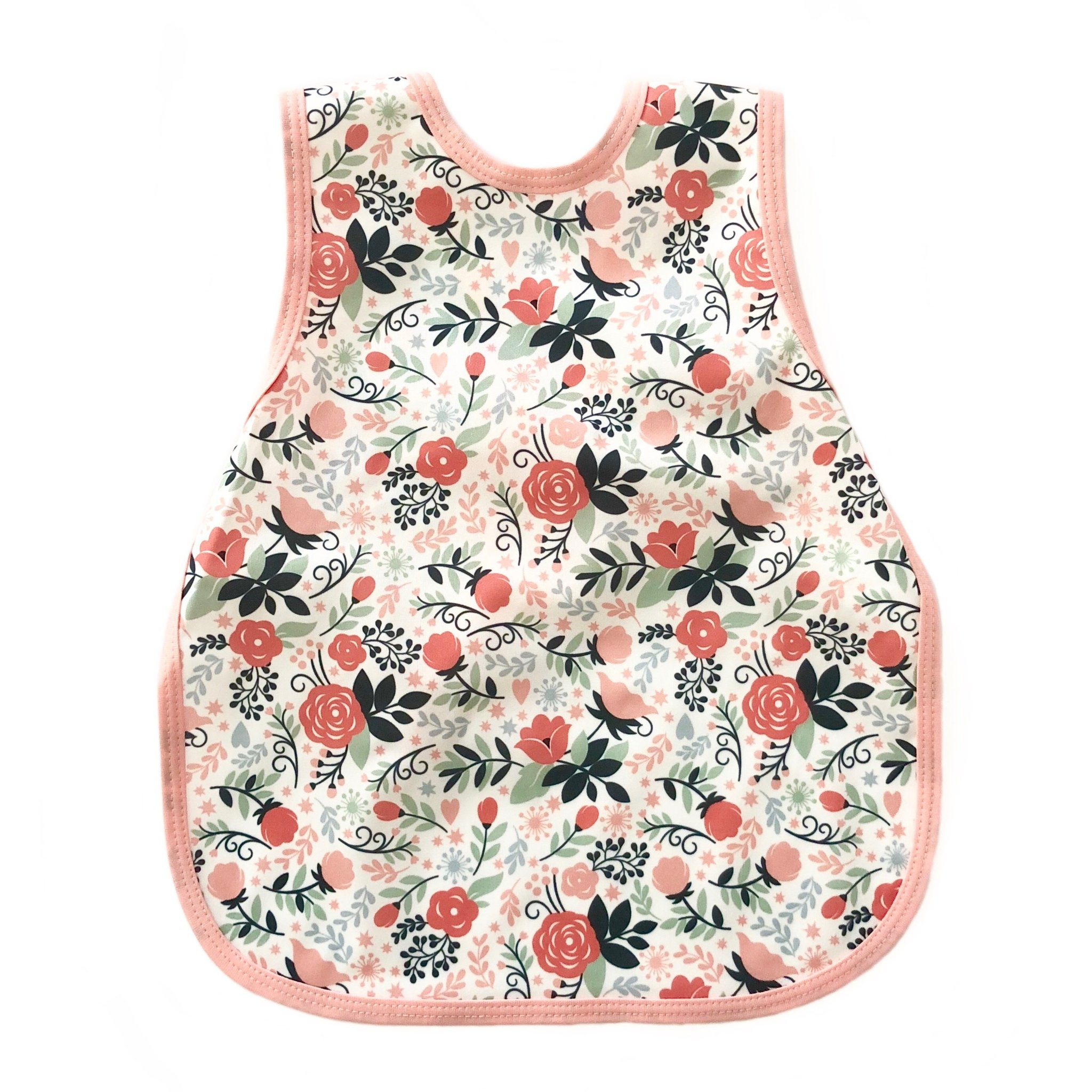 Toddler Bapron 6m-3T | Vintage Rose