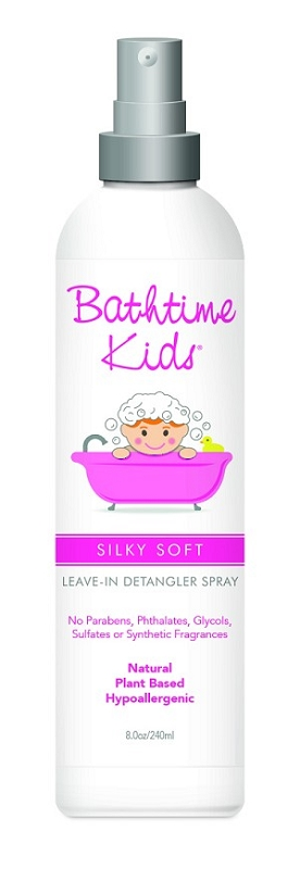 Bathtime Kids Silky Soft Leave-In Detangler 8 oz
