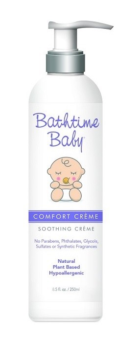 Bathtime Baby Soothing Creme 8.5 oz