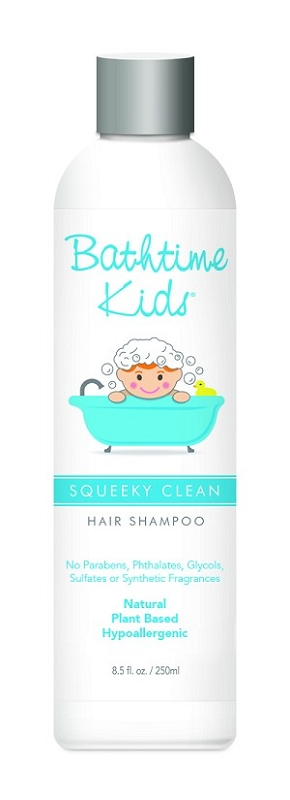 Bathtime Kids Squeeky Clean Hair Shampoo 8.5 oz