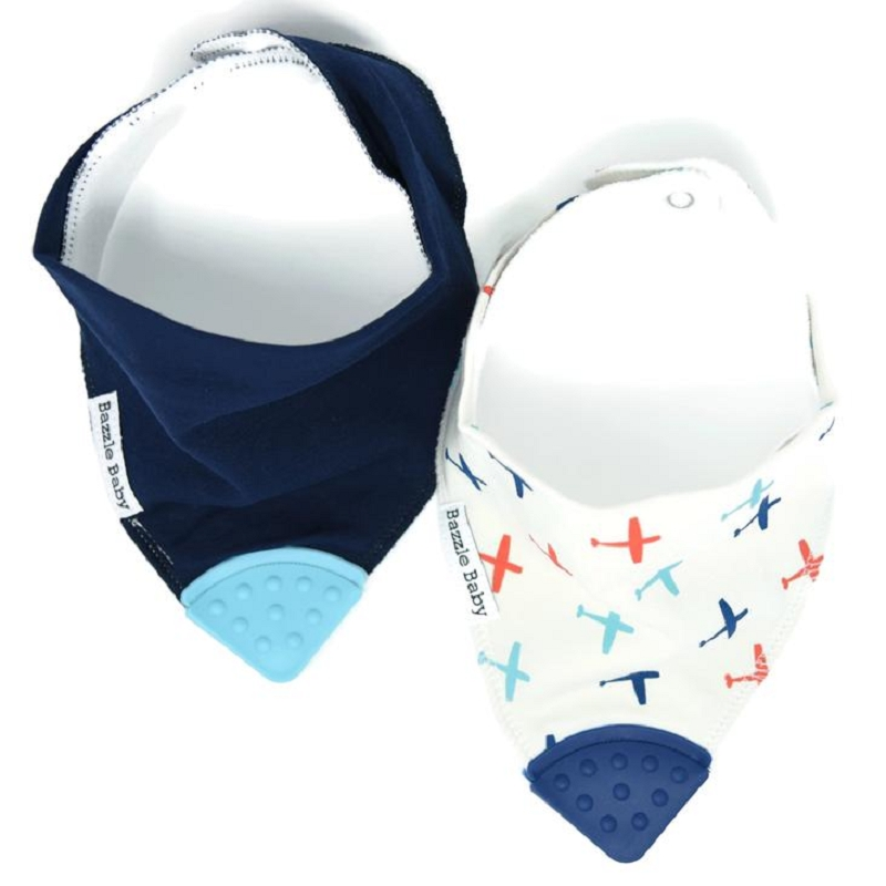 Banda Bib Teether 2 pack | Take Flight