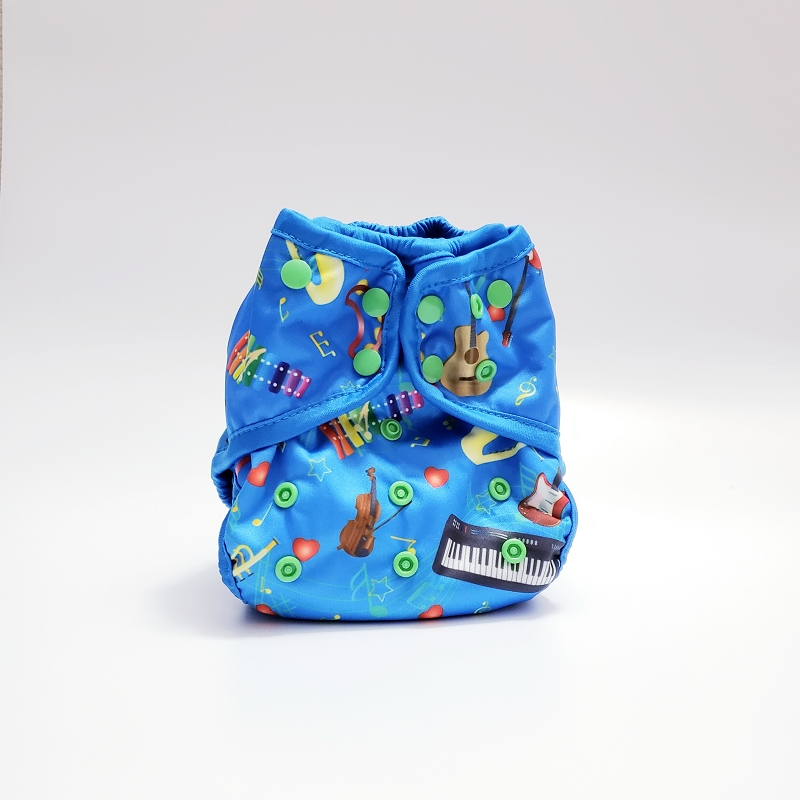 Bebeboo Flex Diaper Cover OS | Romeo's Song