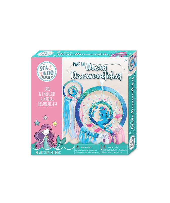 Make an Ocean Dreamcatcher kit