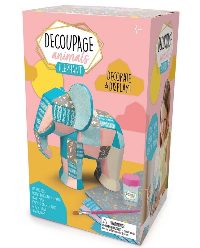Decoupage Animals | Elephant