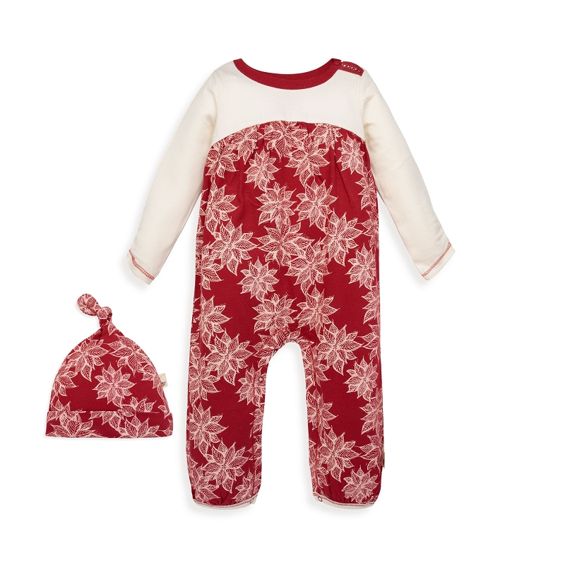 Poinsettia Jumpsuit Set