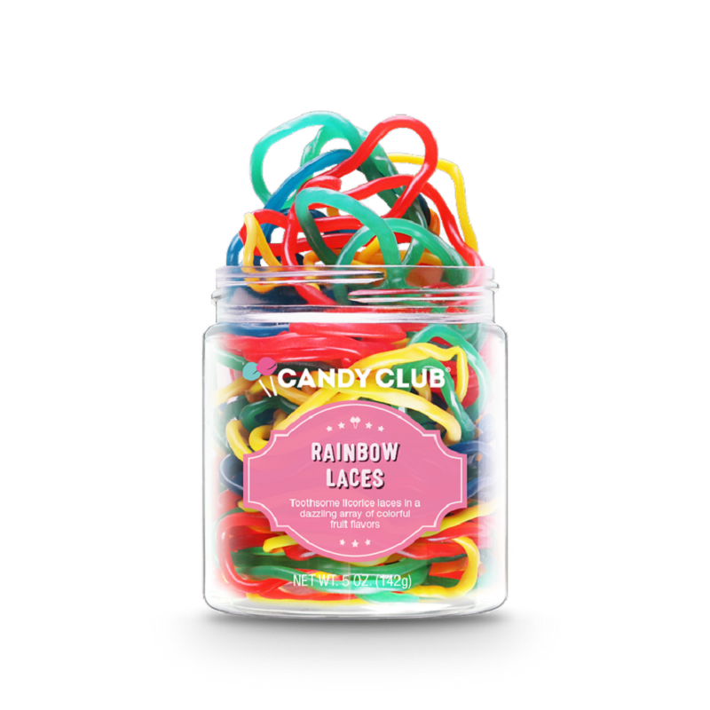 Candy Club Rainbow Laces | 5 oz