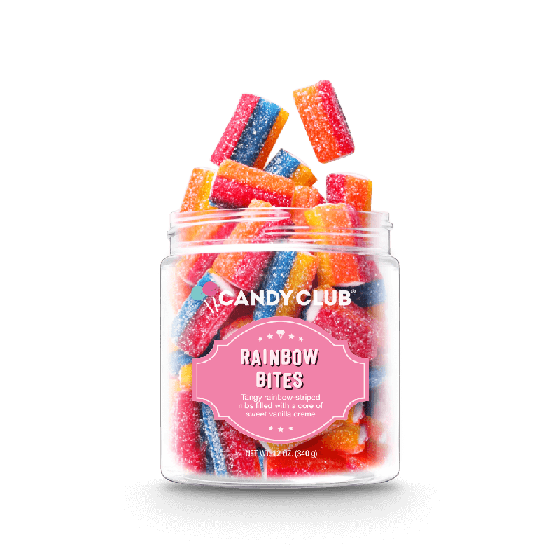 Candy Club Rainbow Bites | 6 oz
