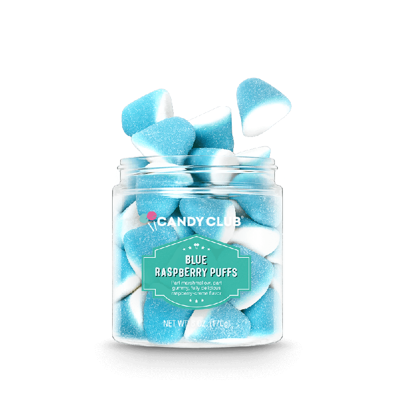 Candy Club Blue Raspberry Puffs | 6 oz