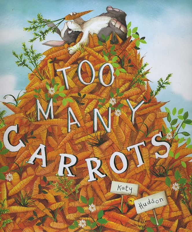 Too Many Carrots board book