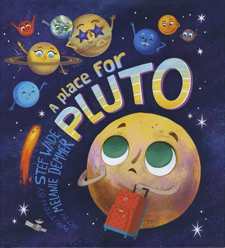 A Place for Pluto board book