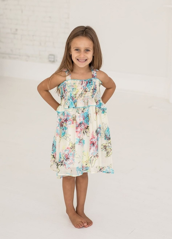 Aubree Smocked Dress