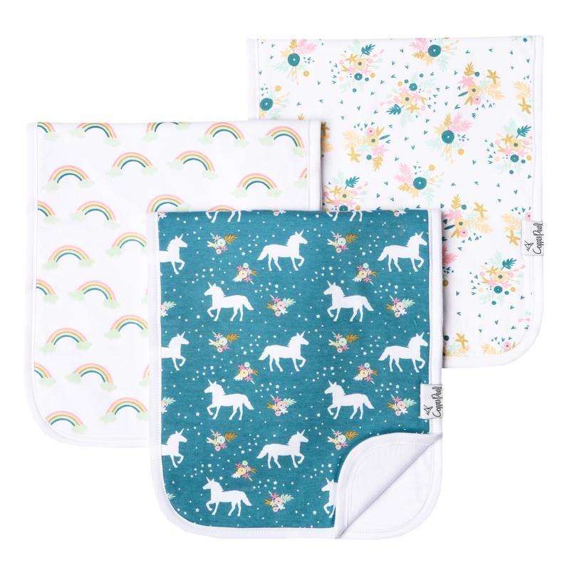 Burp Cloths 3 pk | Whimsy