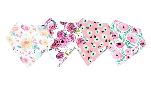Baby Bandana Bibs (4 pk) | Bloom