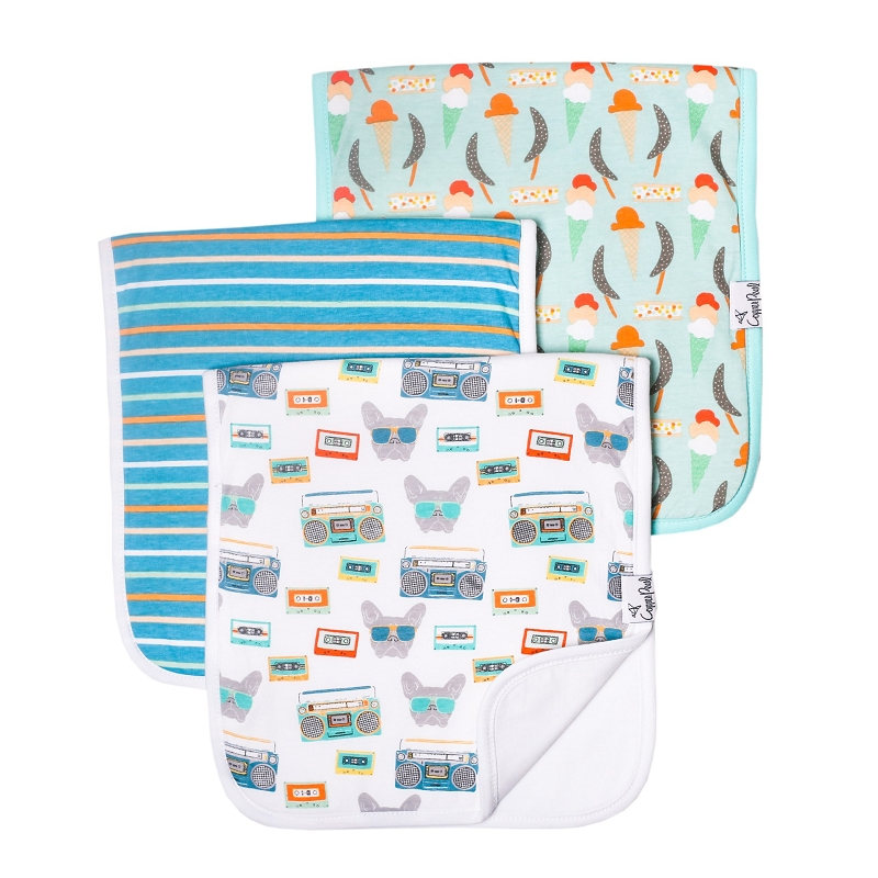 Burp Cloths 3 pk | Bruno