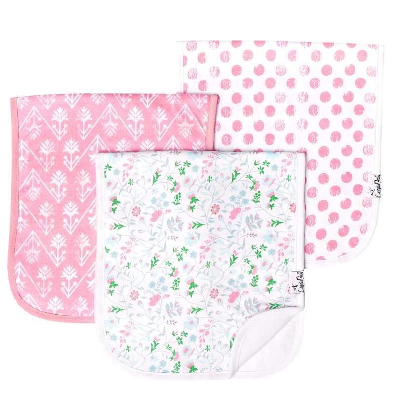 Burp Cloths 3 pk | Claire
