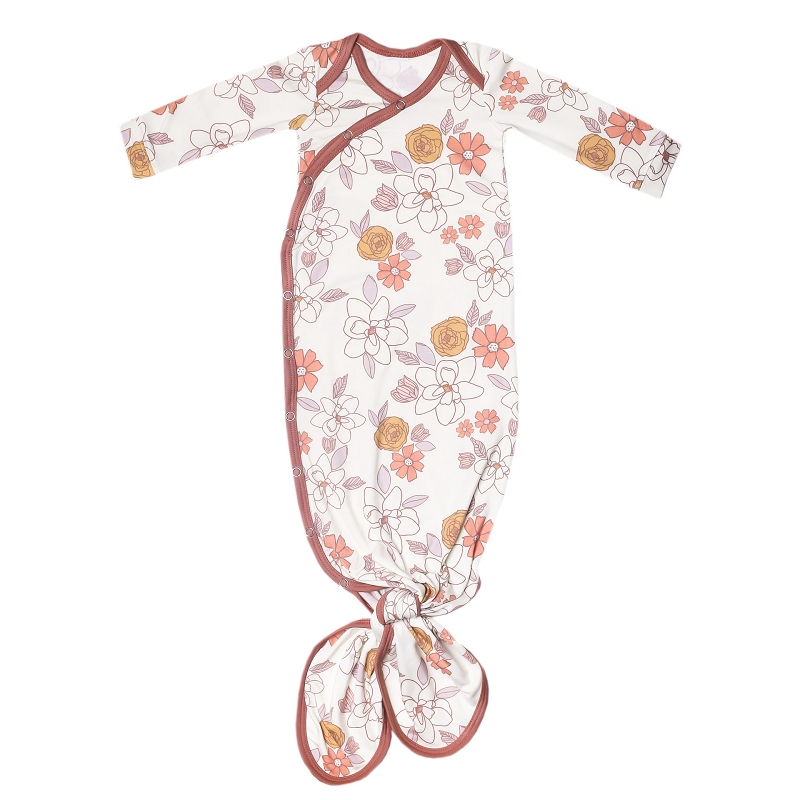Baby Knotted Gown | Ferra