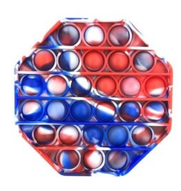 Crazy Snaps | Red White & Blue Hexagon