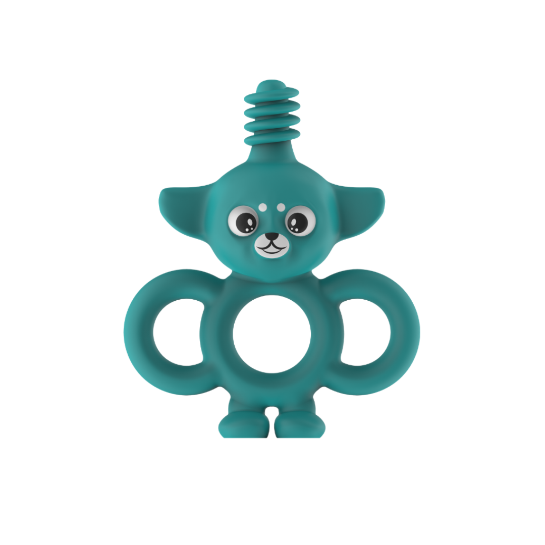 Yummy Buddy Infant Toothbrush | Turquoise