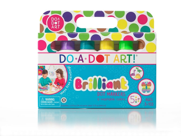Dot Markers 6 pack | Brilliant