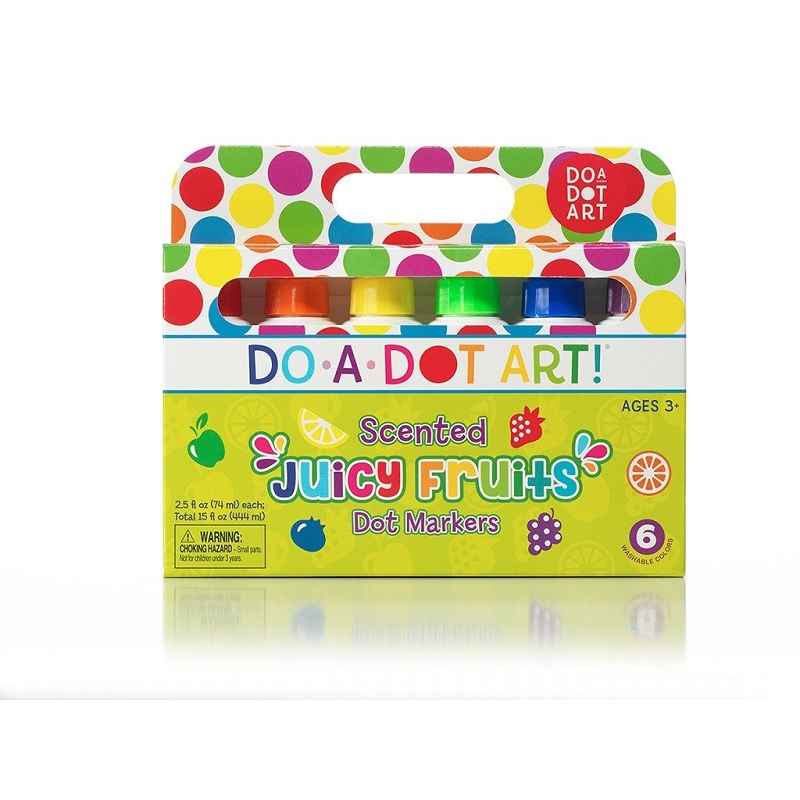 Dot Markers 6 pack | Juicy Fruits