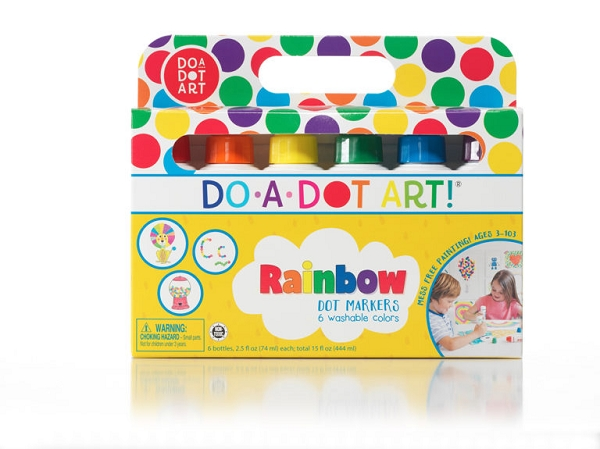 Dot Markers 6 pack | Rainbow