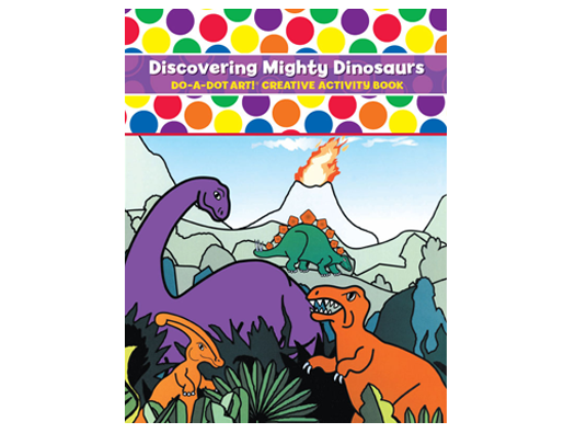 Dot Activity Book | Discovering Mighty Dinosaurs