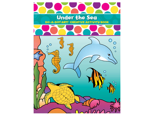 Dot Activity Book | Under the Sea