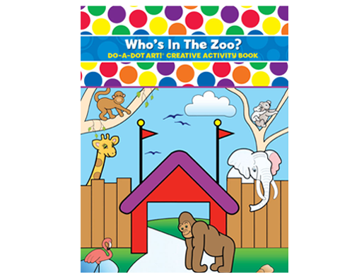 Dot Activity Book | Who's in the Zoo?