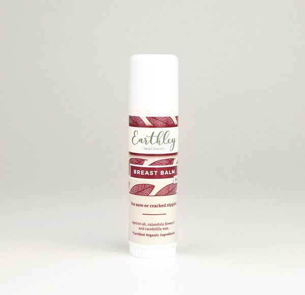 Earthley Breast Balm | .5 oz tube