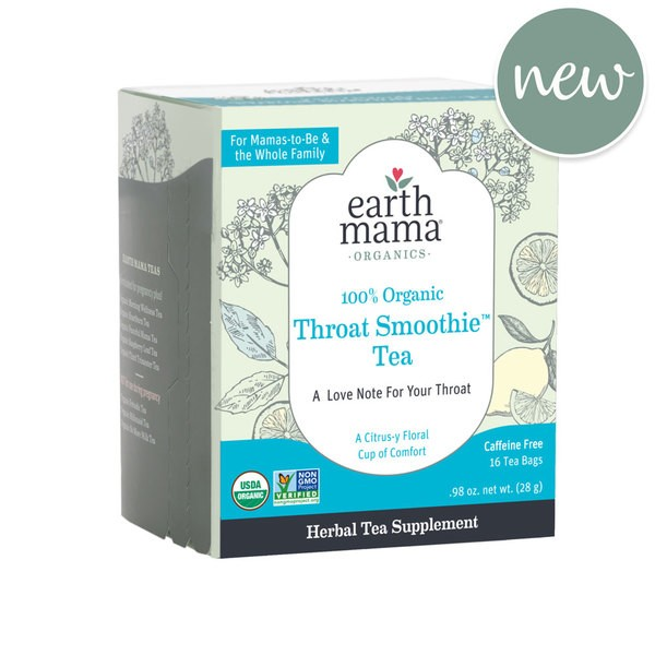 Earth Mama Throat Smoothie Tea