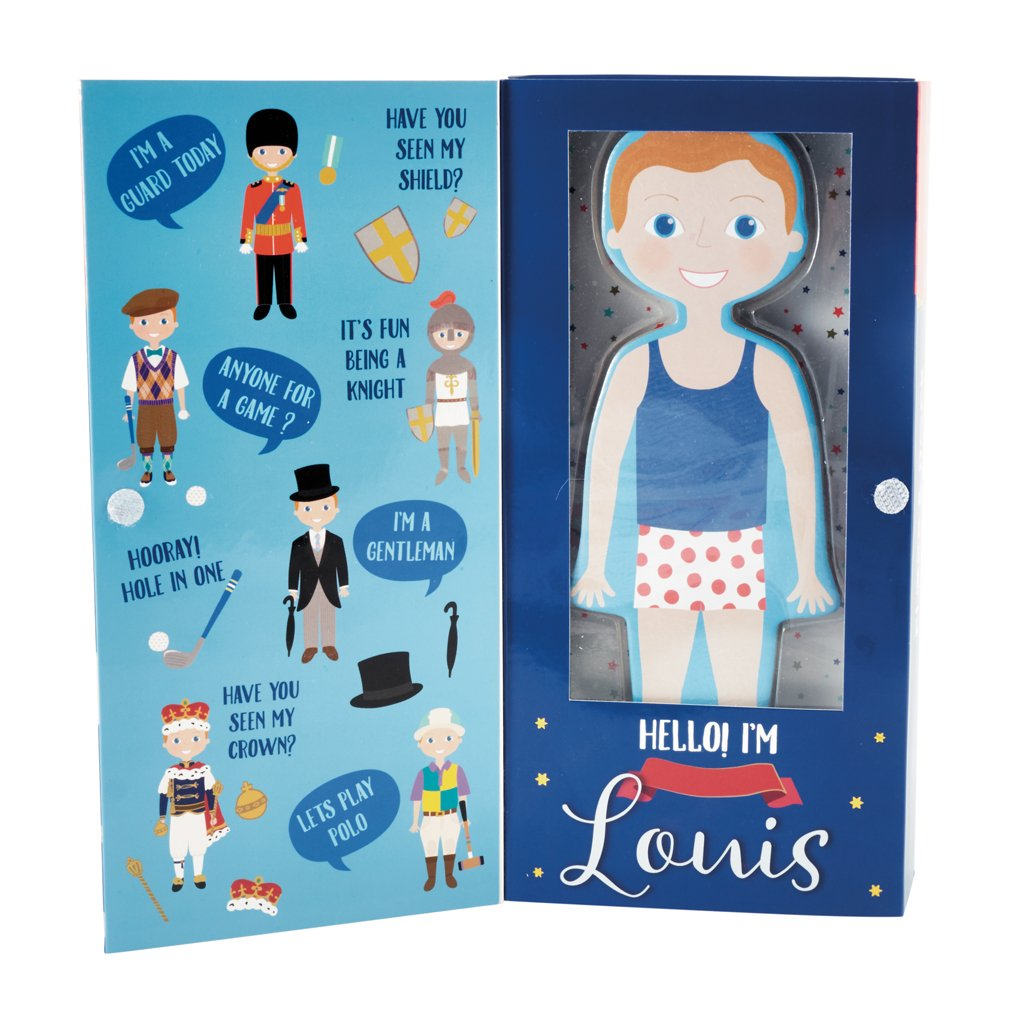 Magnetic Dress Up Doll | Louis
