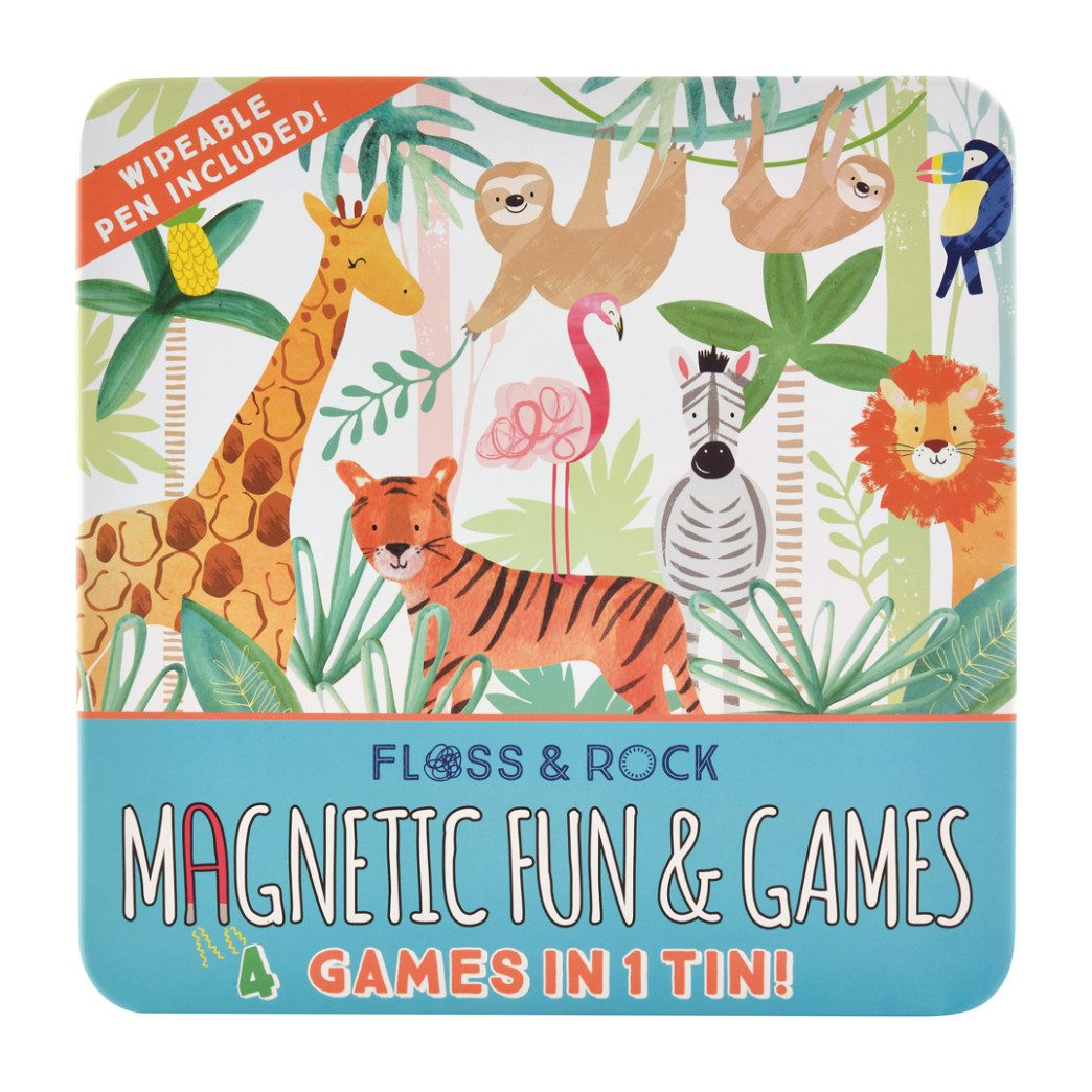 Magnetic Game Tin | Jungle