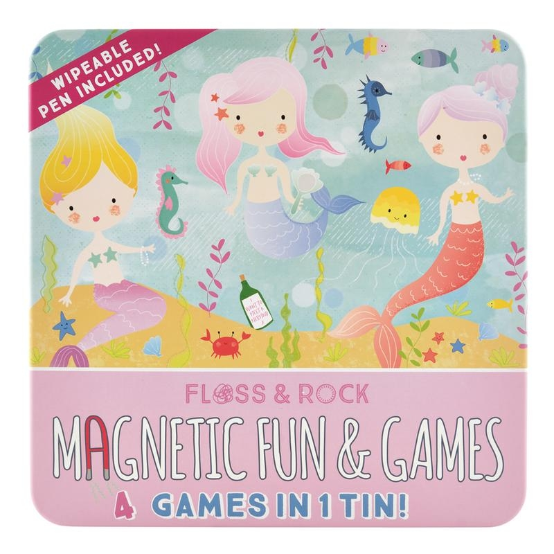 Magnetic Game Tin | Mermaid