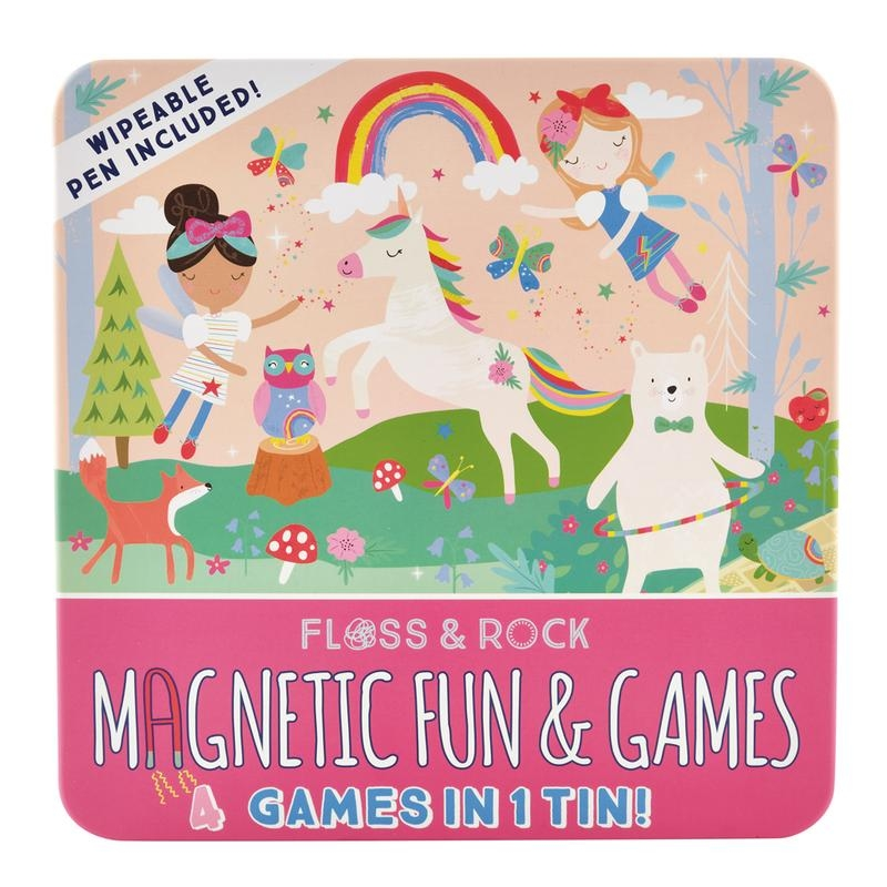 Magnetic Game Tin | Rainbow Fairy