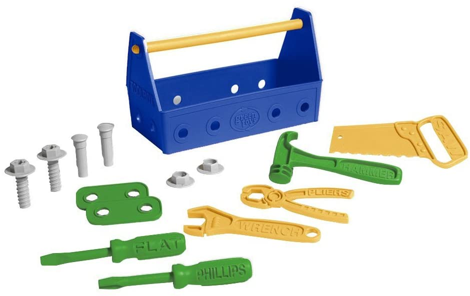 Green Toys Tool Set | Blue