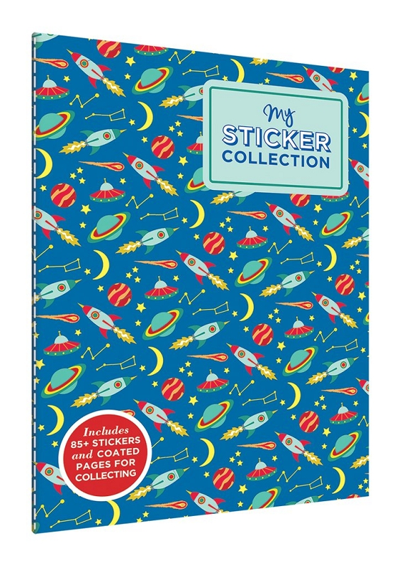 Sticker Collection Book | Space