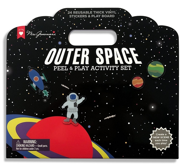 Peel & Play Activity Set | Outer Space